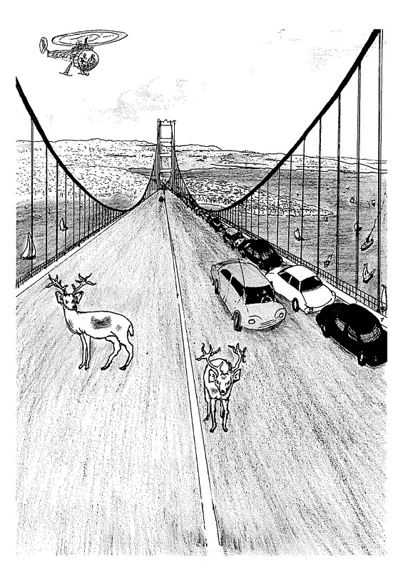 Illustration from the book Moments in Time.
