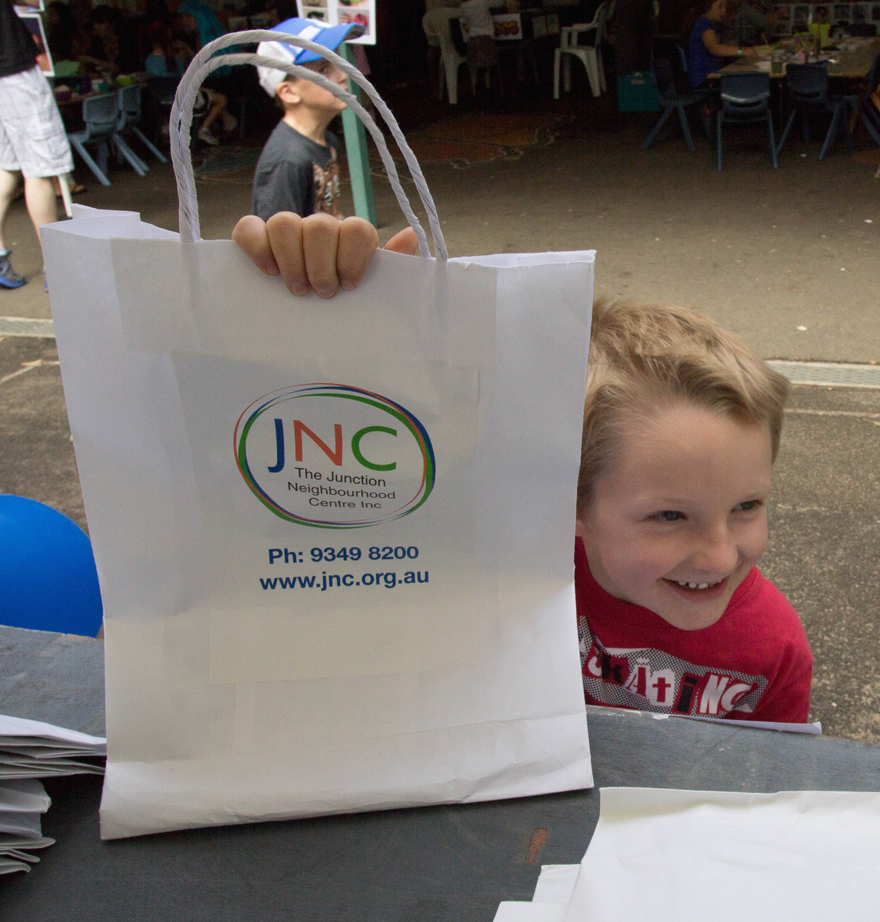 The JNC provides information and referral for families. We have show bags containing brochures and useful resources on services available in the local area.