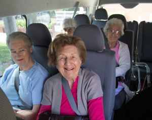 Social Group Shopping on the JNC bus for residents of Randwick LGA