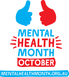 Mental Health Month logo