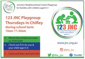 JNC playgroup poster