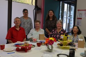 people at National Volunteer Week thank you morning tea 2019