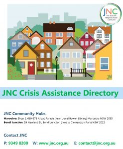 cover of JNC crisis assistance directory